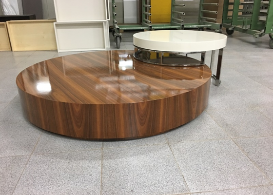 Low coffee table. Mod.DANNA
