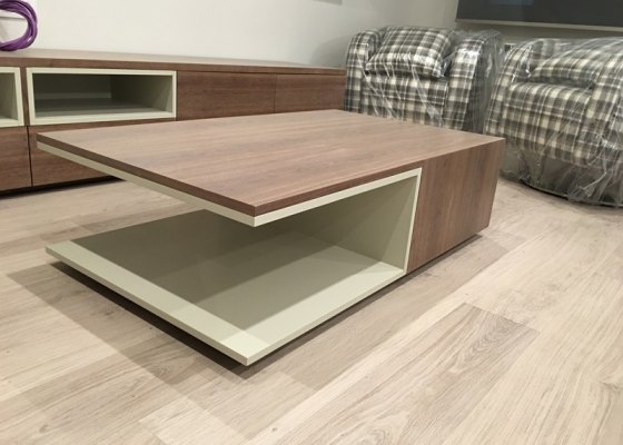 Low coffee table. Mod.LUCAS