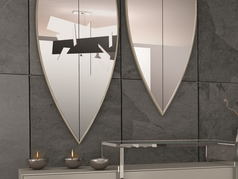 Set of beveled mirrors. Mod: RIO