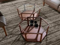 Low table. Mod. HEXA