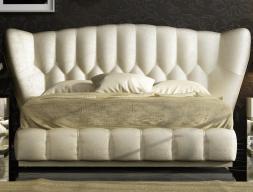 Upholstered complete bed.Mod: ZARAH