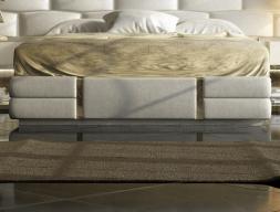 Uphostered frame bed. Mod: VERDI