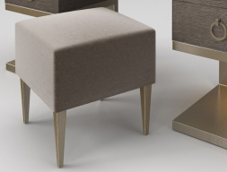 Upholstered bench. Mod. HELENNA