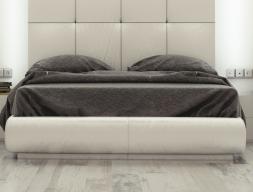 Uphostered frame bed. Mod: ATHENEA