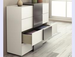 4-drawer chest. Mod. ATHENEA