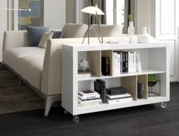 Shelf behind the sofa. Mod. MORE