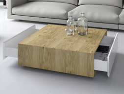 Low table with drawers. Mod. FLAME