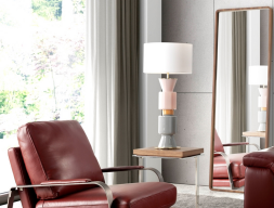 Table lamp. Mod. NAC109