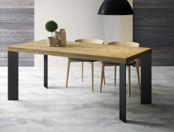Oak fix dining table. Mod. IX