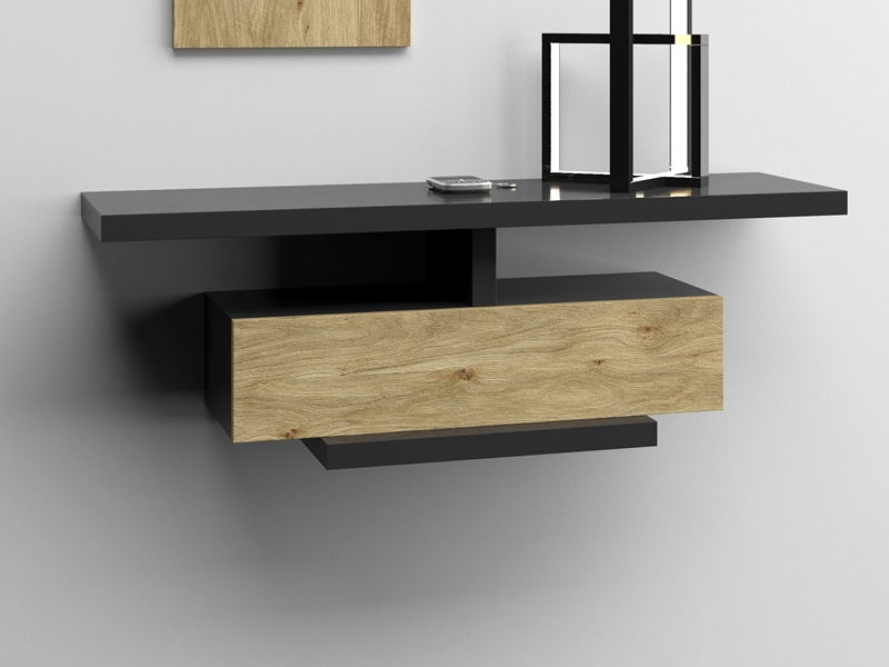 Set of console and mirror. Mod. LICCIA