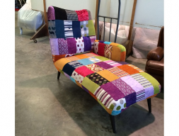 Chaise lounge. Mod. DI TREVI PATCHWORK