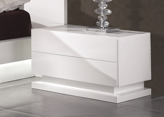 Lacquered bedside tables, mod: TAMARA