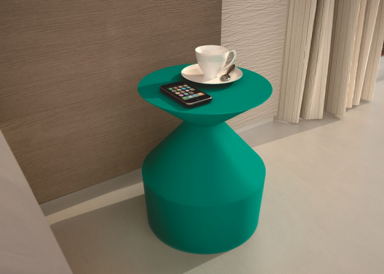 Lacquered bedside table. Mod: TREVISO
