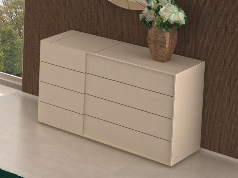Chest 4 drawers with jewelry box. Mod: TEIDE