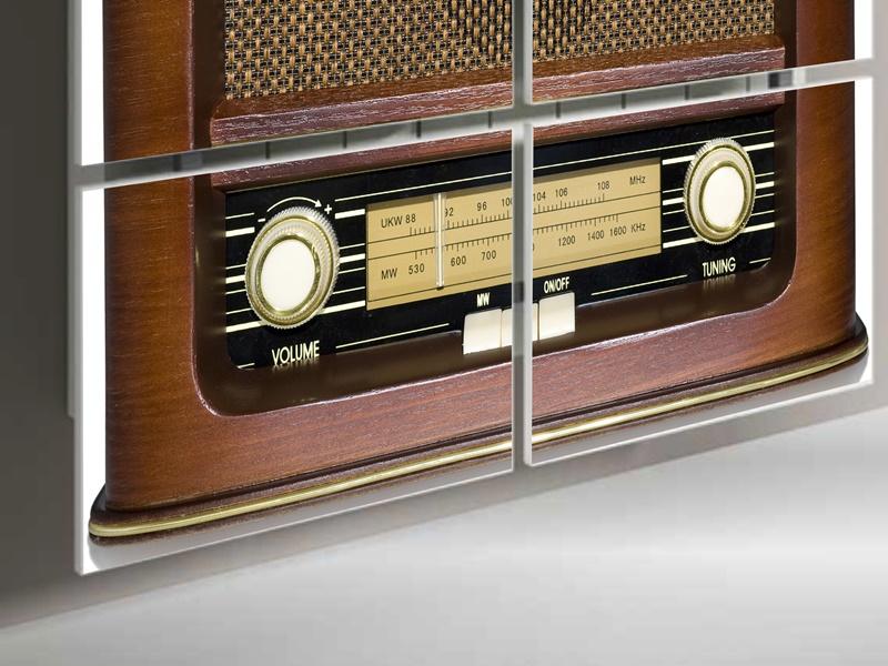 Radiator cover. Mod. RADIO