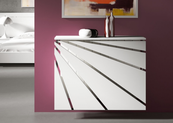 Lacquered radiator cover. Mod. ANTELLA