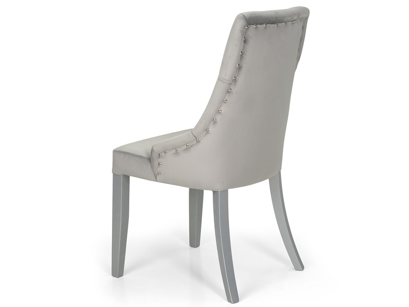 Set of 2 upholstered chairs. Mod. IRIS