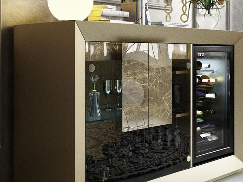Wine cabinet. Mod: SAUVIGNON