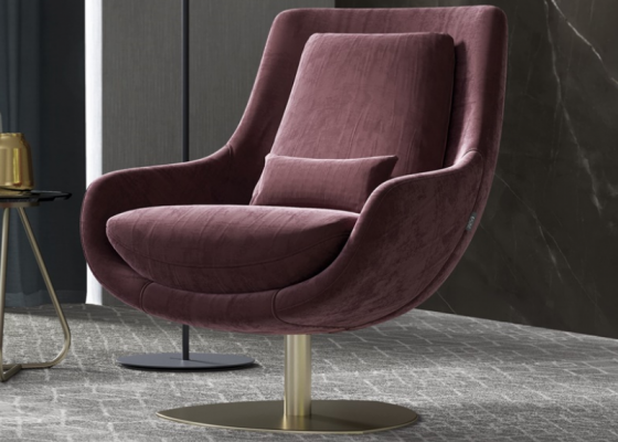 Swivel and relax armchair. Mod: TELVA