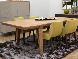 Extensible dining table.Mod: AMELIE