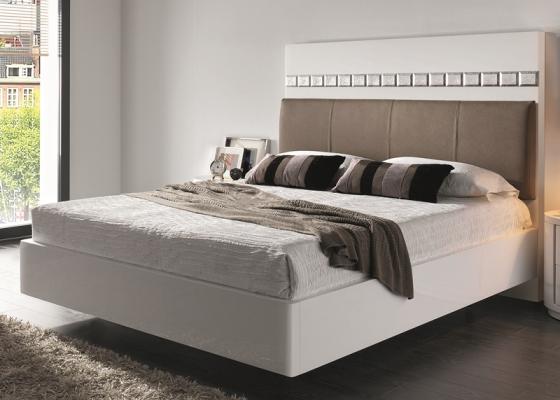 Cama completa lacada con base de cama . Mod: TESSA