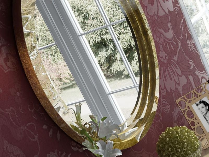 Round  mirror. Mod. SOCIET�