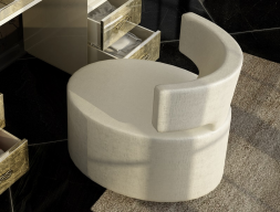 Upholstered bench. Mod. GOYA