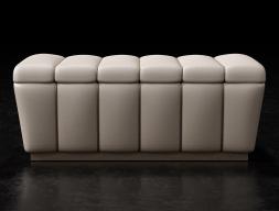 Design upholstered bench. Mod. ZARAH
