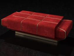 Design upholstered bench. Mod. SOPHIA