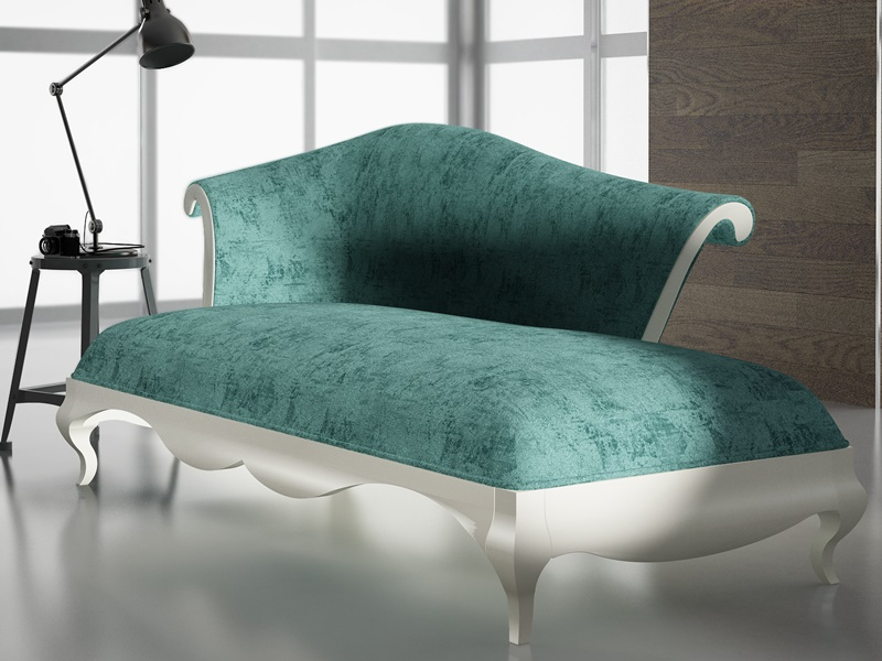 Upholstered anad lacquered lounge chair. LACQUERED ELAINE