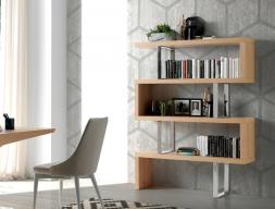 Bookshelves. Mod. CHICAGO OAK