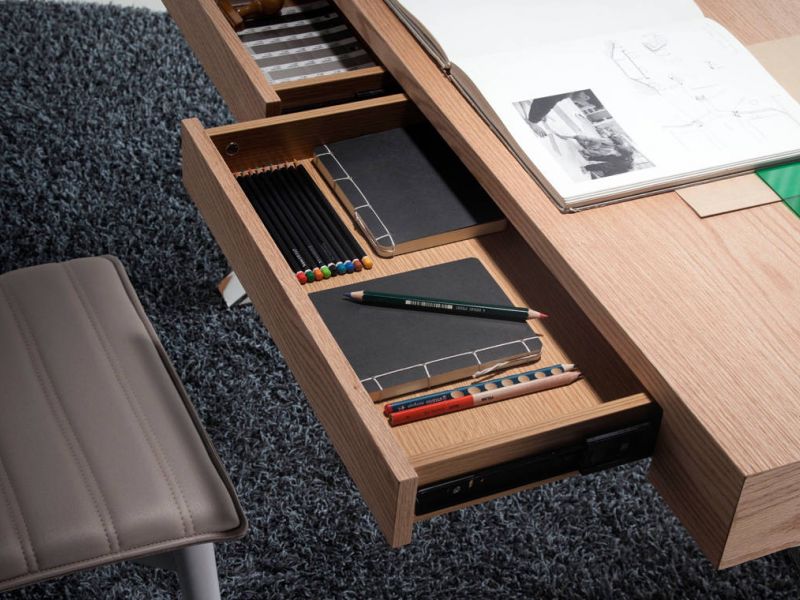 Office desk. Mod. MUNICH OAK
