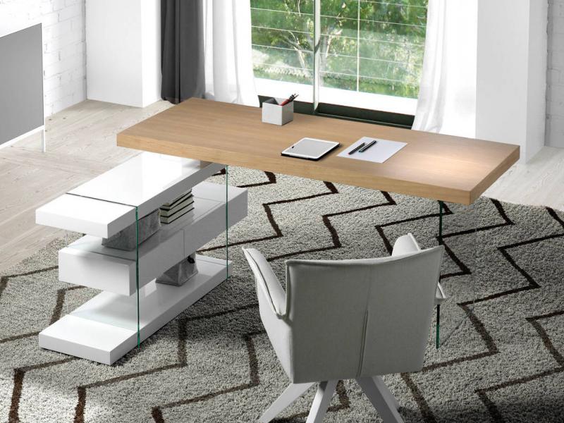 Office desk. Mod. LISBOA OAK