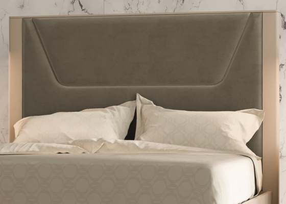 Lacquered and uphosltered headboard. Mod. JOSEPHINE