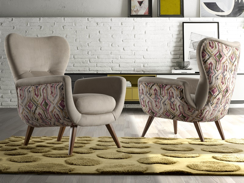 Upholstered armchair. Mod: VENECIA