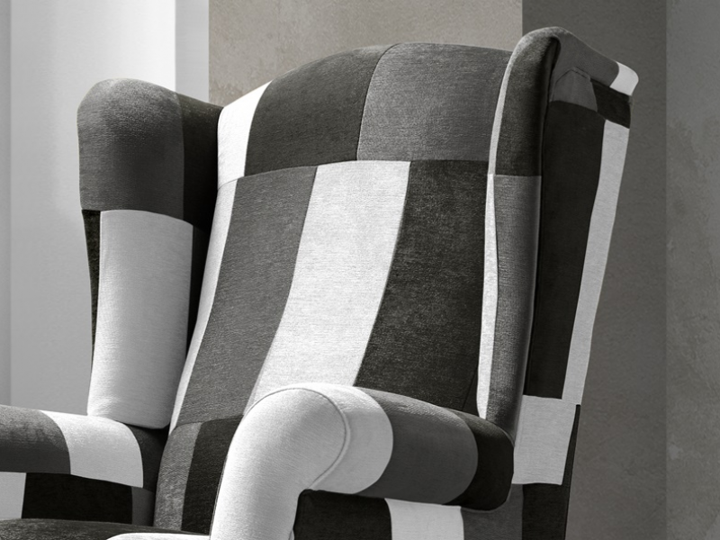 Armchair. Mod. BOSTON PATCHWORK BYN