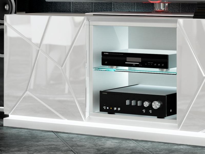 Design TV stand. Mod. NAUGE