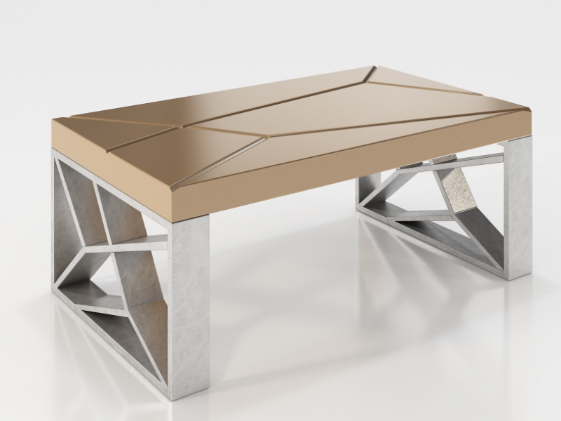 Low design table. Mod. LINDE
