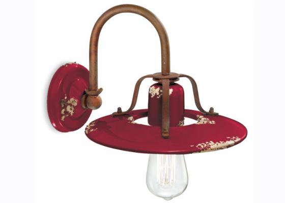 Ceramic wall lamp. Mod. INDUSTRIAL H