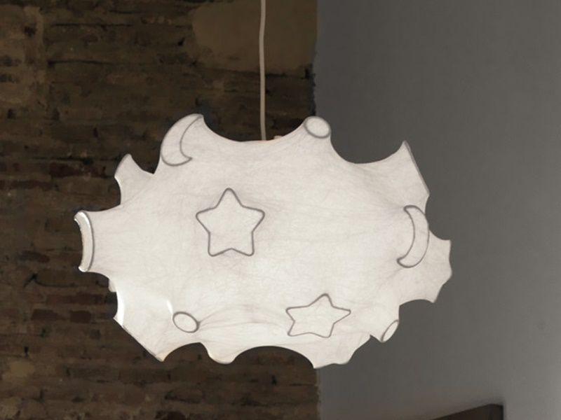 Ceiling lamp. Mod. SPACE