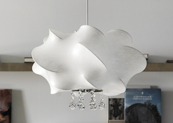 Ceiling lamp. Mod. LLUVIA