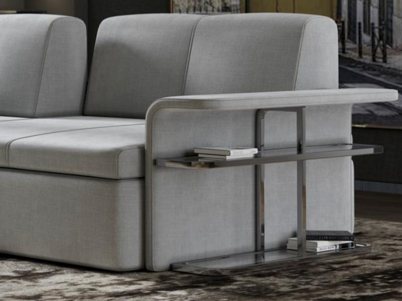 Sofa with bookcase.Mod: MONROE