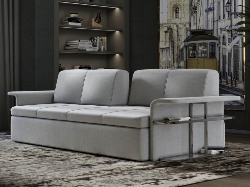 Sofa with bookcase. Mod: MONROE