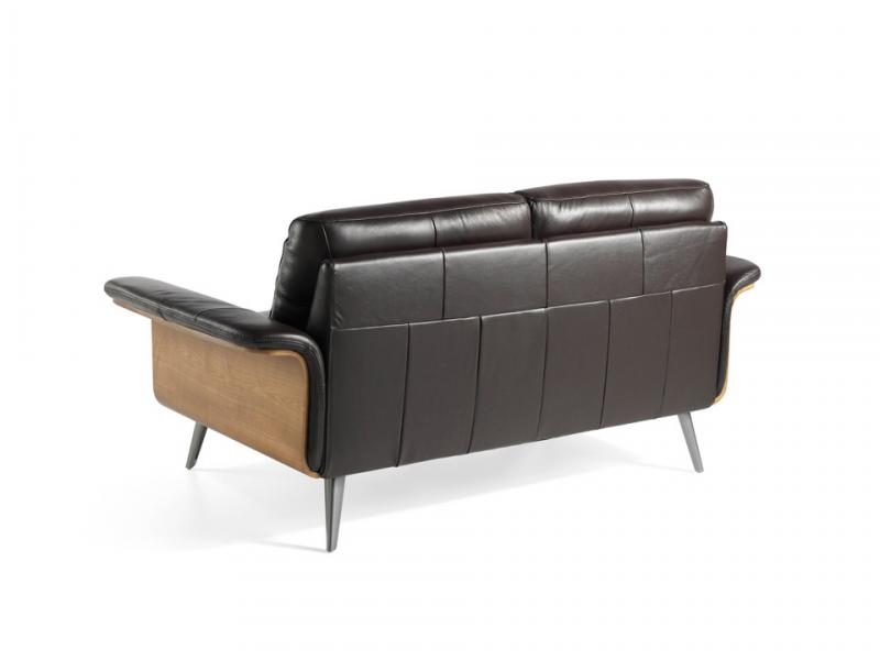 2 seater leather sofa. Mod. TIVOLI 2P
