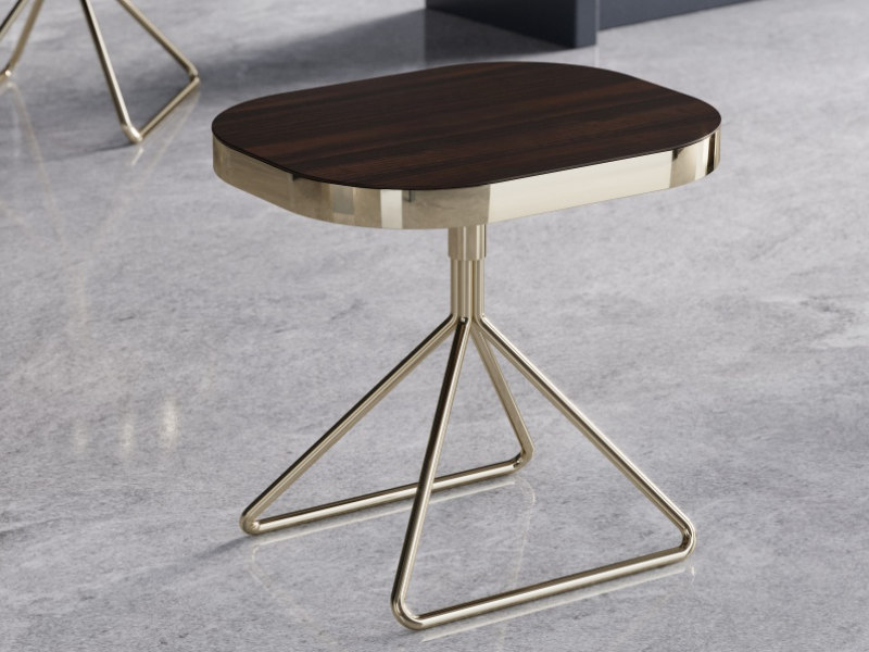 Design auxiliary table in stainless steel. Mod. BIBI