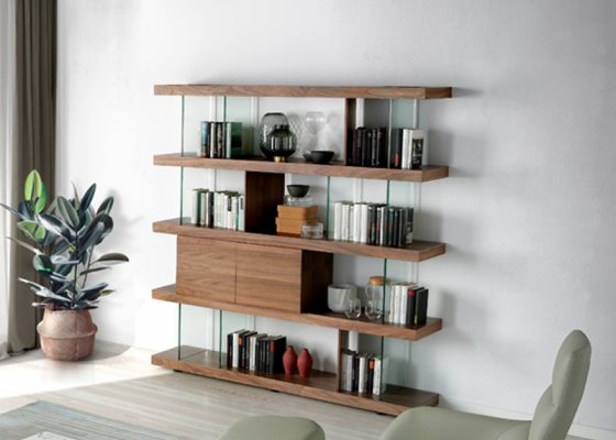 Bookshelves. Mod. CAPRI