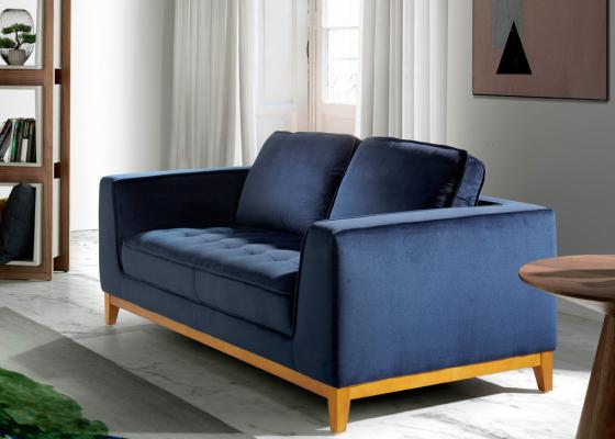 2-seater upholstered sofa. Mod. ALEXA-2P