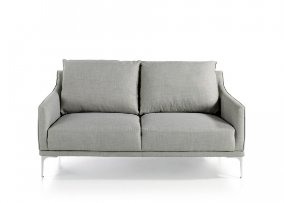 2-seater upholstered sofa. Mod. ZOE-2P