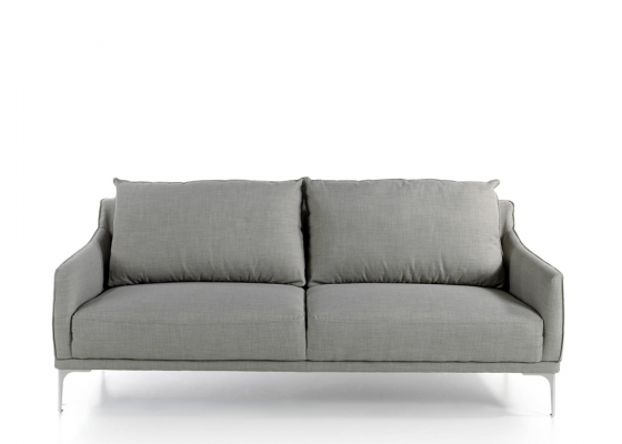 3-seater upholstered sofa. Mod. ZOE-3P