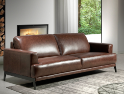 3 seater leather sofa. Mod. LUXOR-3P